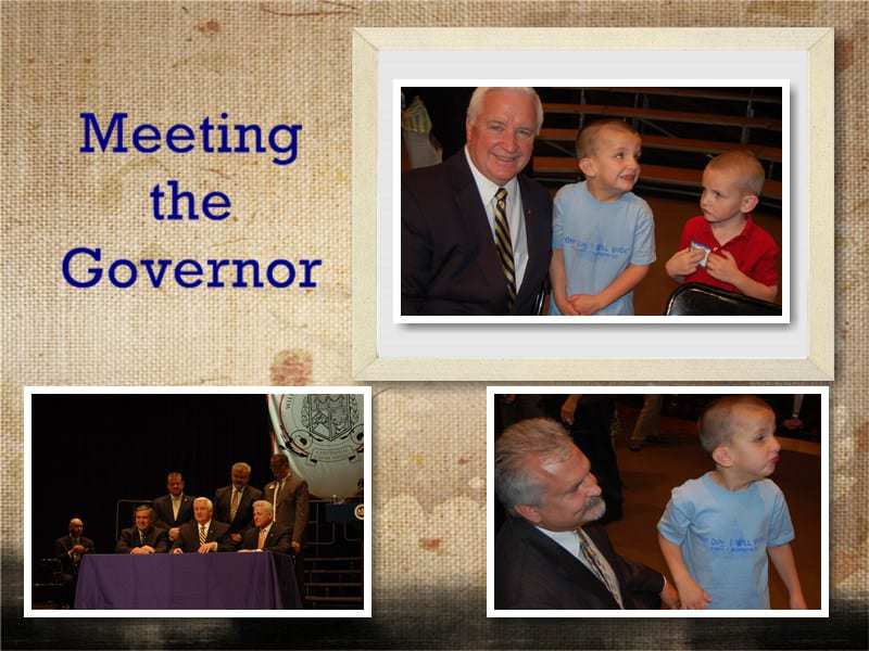 us with governor corbett