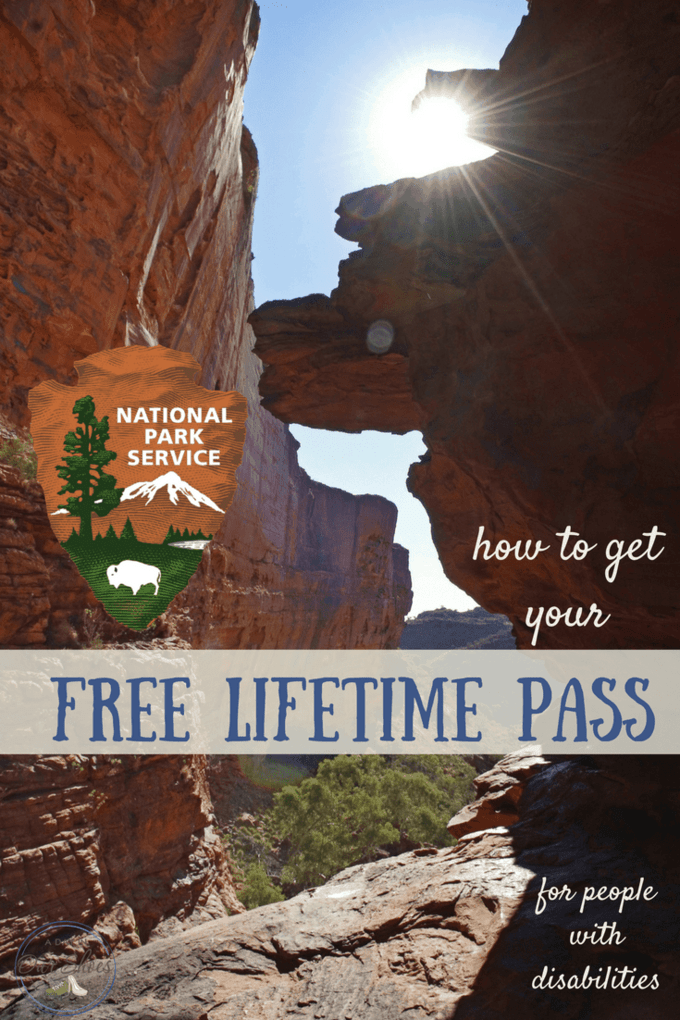 FREE lifetime pass to National Parks for people with disabilities