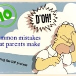 Common parent mistakes during the IEP process