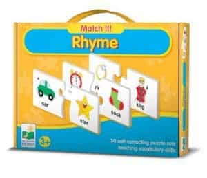 match it rhyming puzzle, Toys Special Needs Child, sensory toys autism