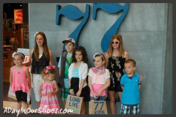 {Thoughtful Thursday} Our day at the 77Kids fashion show at King of Prussia Mall