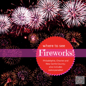 Where you can find fireworks all summer long, if you live near Philadelphia, Chester County or northern Delaware.