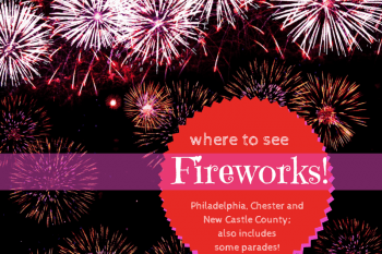 Where to see Fireworks in Chester County, Delaware, Philadelphia~2018