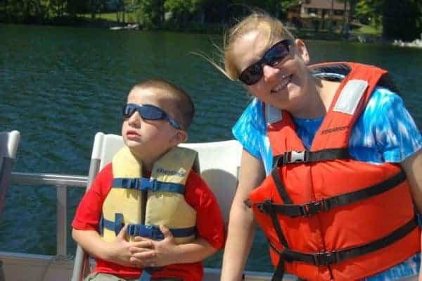 paddleboats ridin hy ranch