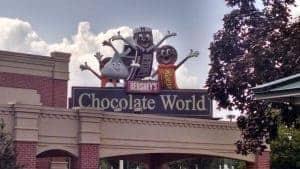 Win a 4-pack of tickets to Hershey's Chocolate World! #ChocolateTour #HersheyPA