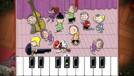 charlie brown christmas app