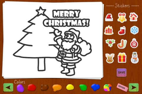 christmas draw and send app