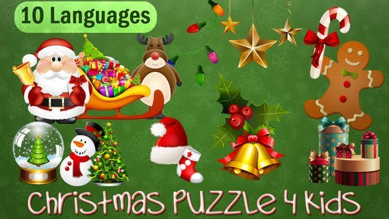christmas puzzles app