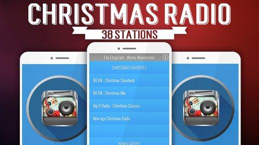 christmas radio app