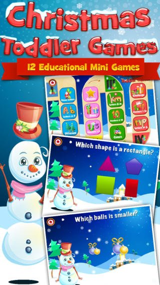 christmas toddler games