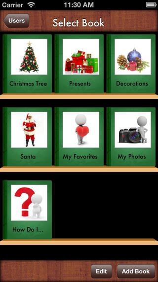 christmas vocab app