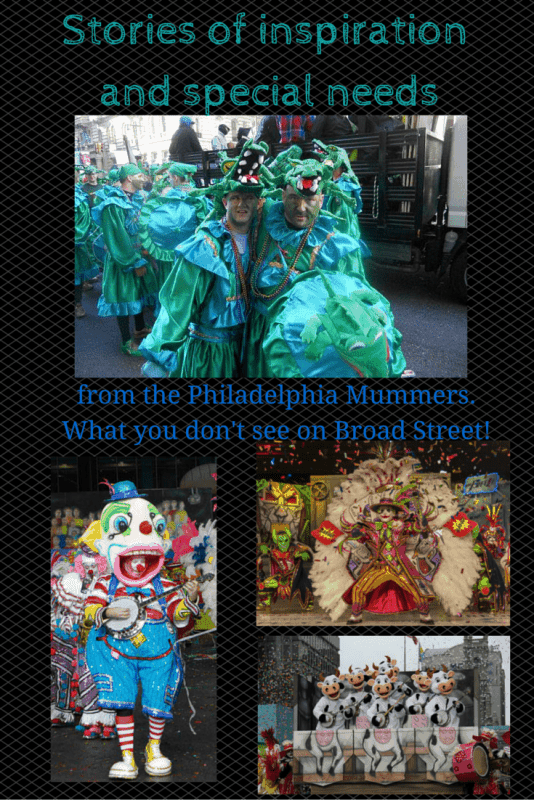 disabled mummers parade