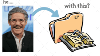 How Geraldo Rivera affected your IEP and IDEA 1975.