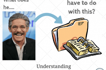 how Geraldo Rivera affected your IEP~understanding the history of IDEA 1975