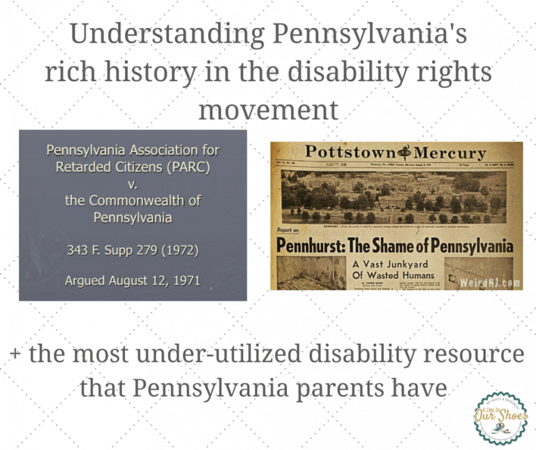 The PARC Decree and the most under utilized disabilities resource in PA.