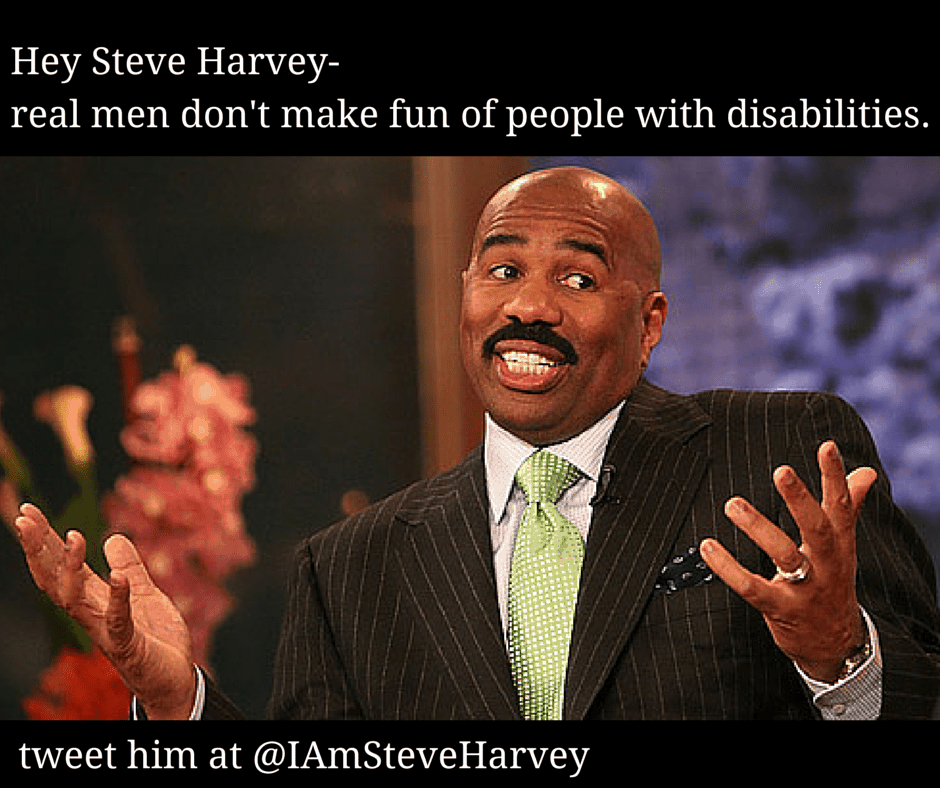 9c8d8ad81a6b Enough is enough. Time to boycott Steve Harvey. • A Day In Our Shoes