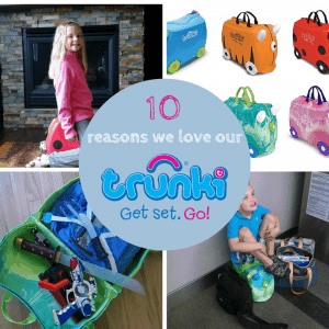 Why we love our Trunki, it's a great summer travel accessory!
