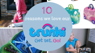 10 Travel Hacks to try with your Trunki Suitcase.