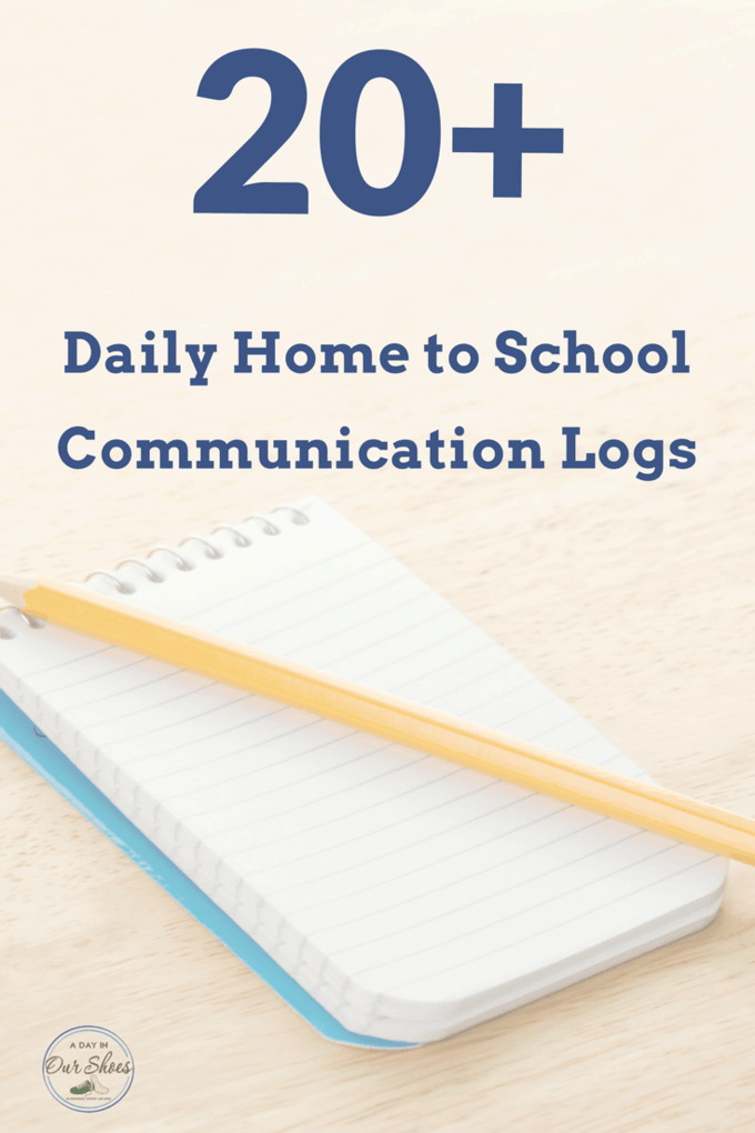 Need a daily home to school communication log idea or template? Looking for a better way to communicate between home and school? Here are more than 20 resources for printable home to school communication logs. Free, printable, and many are special education specific. Plus tips on how to use it effectively with an IEP. #IEPadvice #DontIEPalone #communicationlogs #hometoschoolcommunication #education #talkwithteachers