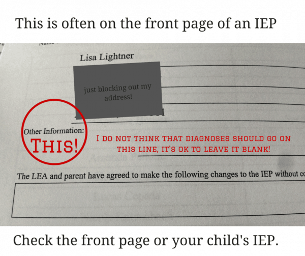 front page of IEP