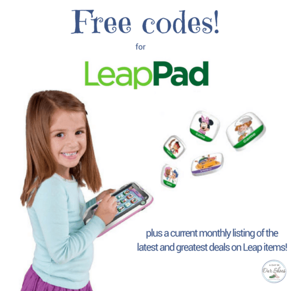 LeapPads: Free Codes, Discount Codes, Apps, Games.