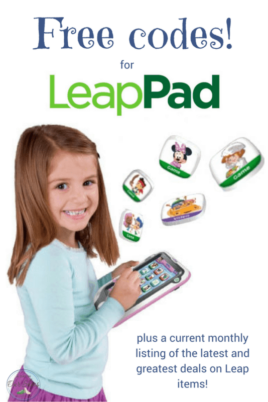leap pad free codes