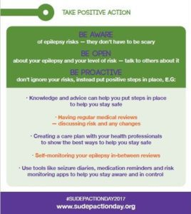 sudep action steps informational graphic