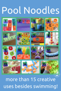 creative uses pool noodles collage preview examples