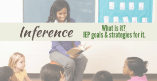 {Definition of Inference} Examples | Strategies | Worksheets | IEP Goals