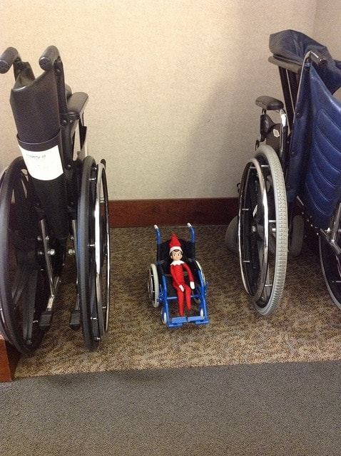 elf shelf wheelchair
