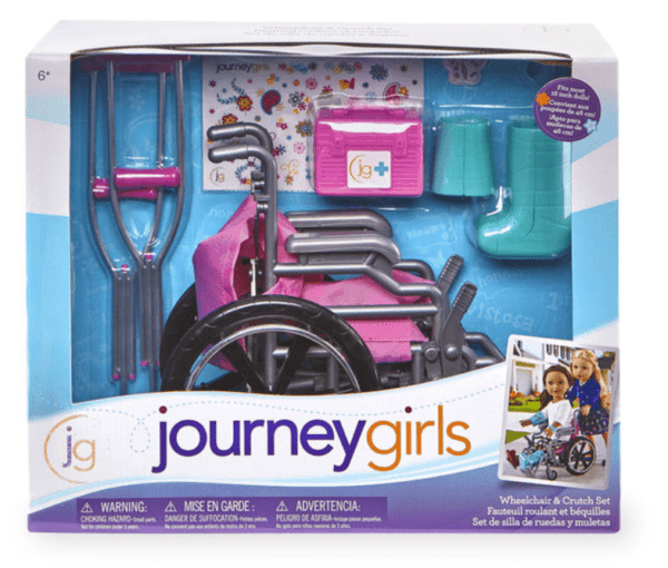 journey girl wheelchair set