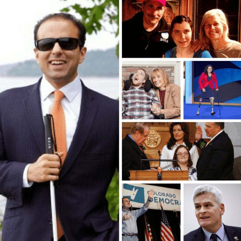Politicians with Disabilities (and their families): But do they support the cause?