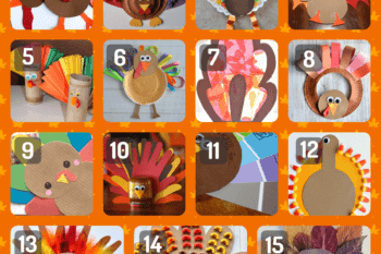 Beyond the turkey hand print~15+ simple Thanksgiving crafts for kids