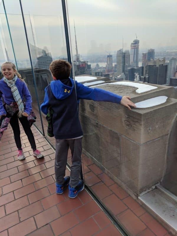 top of the rock NYC autism