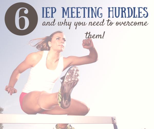 iep meeting hurdles