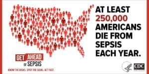 sepsis and special needs disabilities informational image united states outline