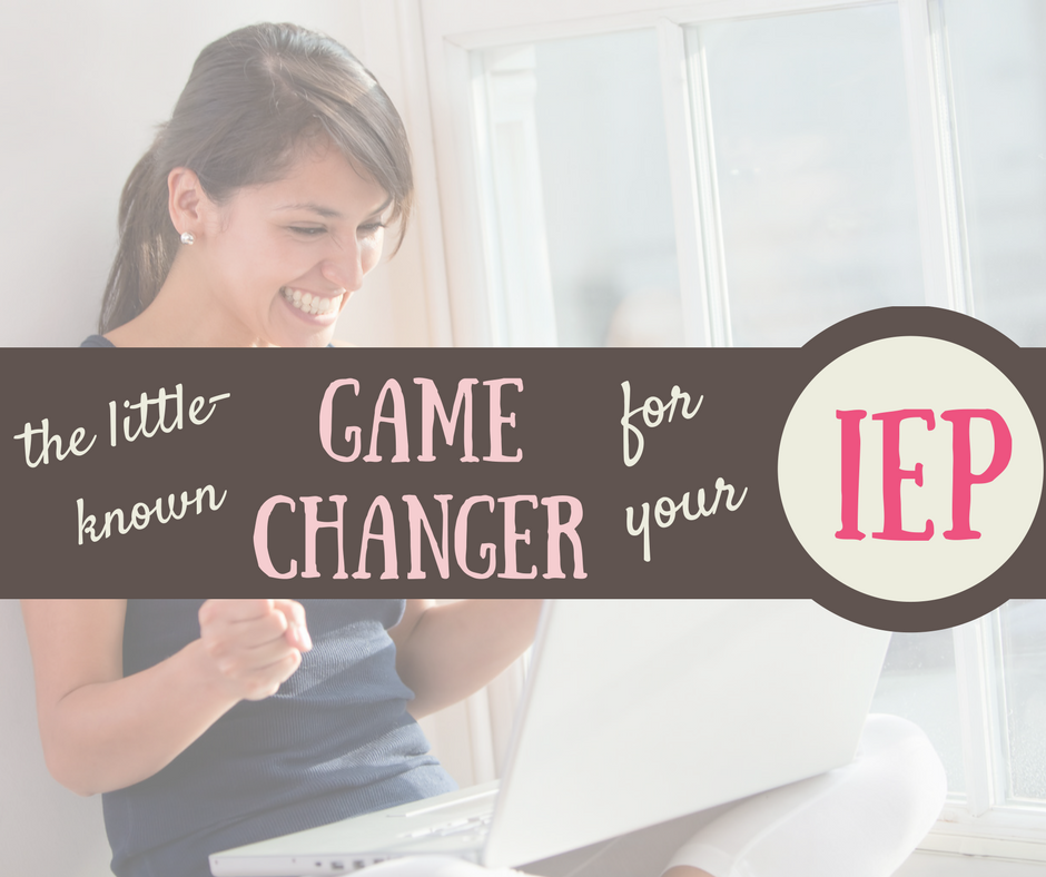 PWN: The little known game-changer in the IEP process. {Learn it, use it.}