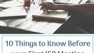 10 Dos and Don'ts for your First IEP Meeting.