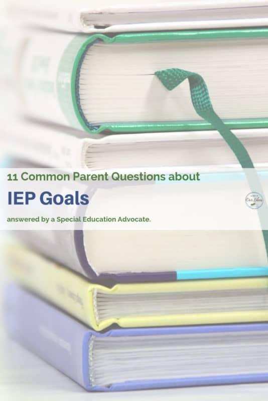 goals for IEP