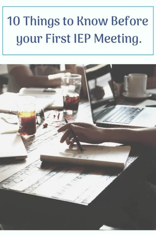 what to know first iep meeting