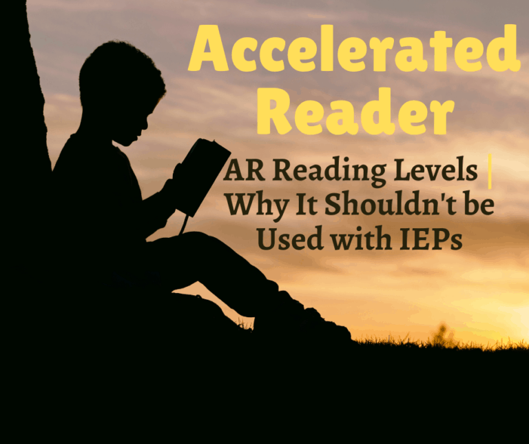 IEP Progress Monitoring with Accelerated Readers? | AR Books | Reading Levels