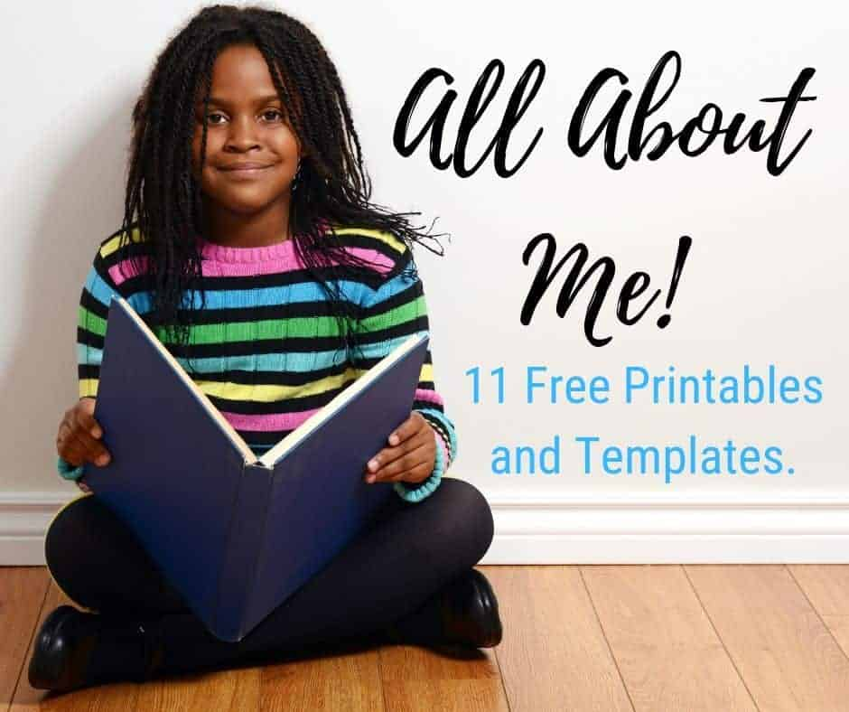 picture about Free Printable All About Me Poster named All Relating to Me 11 Free of charge Worksheets and Templates. A Working day In just
