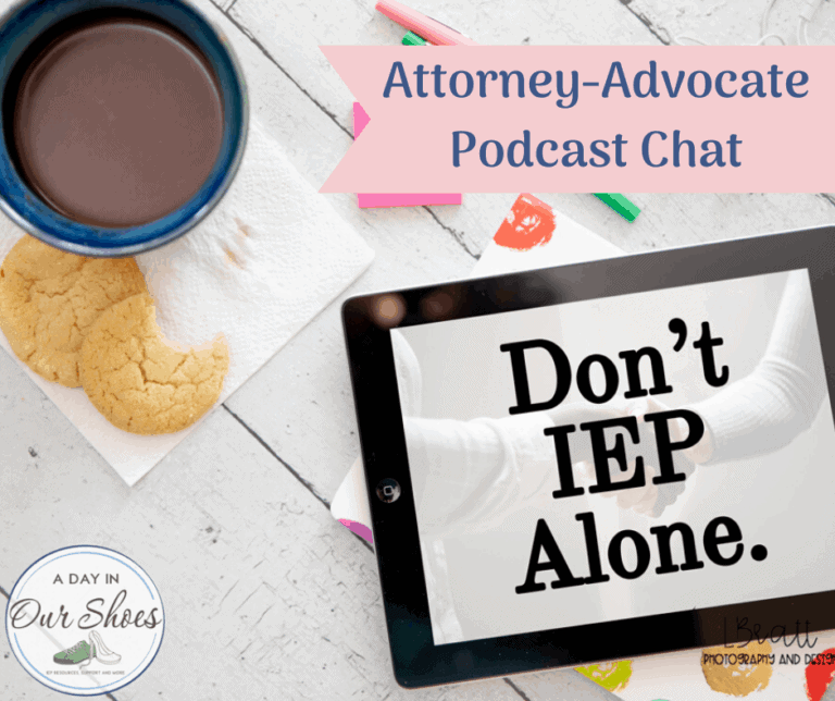 Special Ed Attorney and Advocate Chat {transcribed podcast}