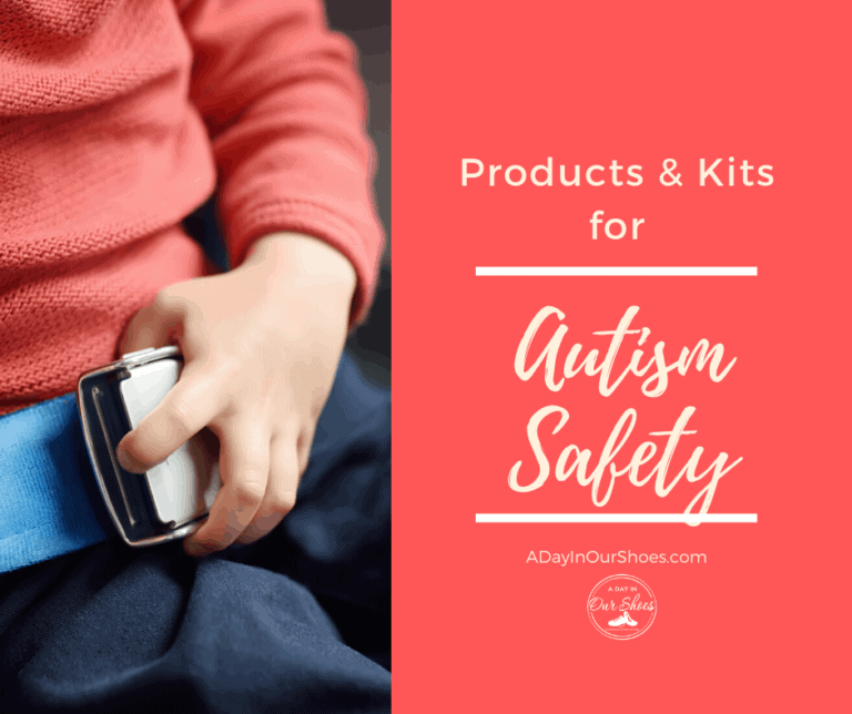 {Autism Safety} Products, Kits and Tips to Keep Your Child Safe.
