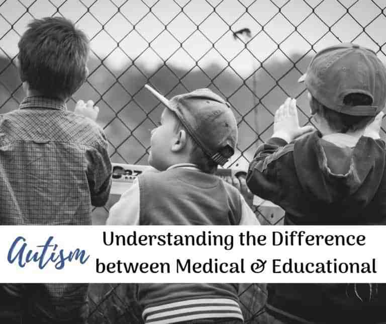 Educational Autism | What's the difference between a Medical and a School Diagnosis of Autism?