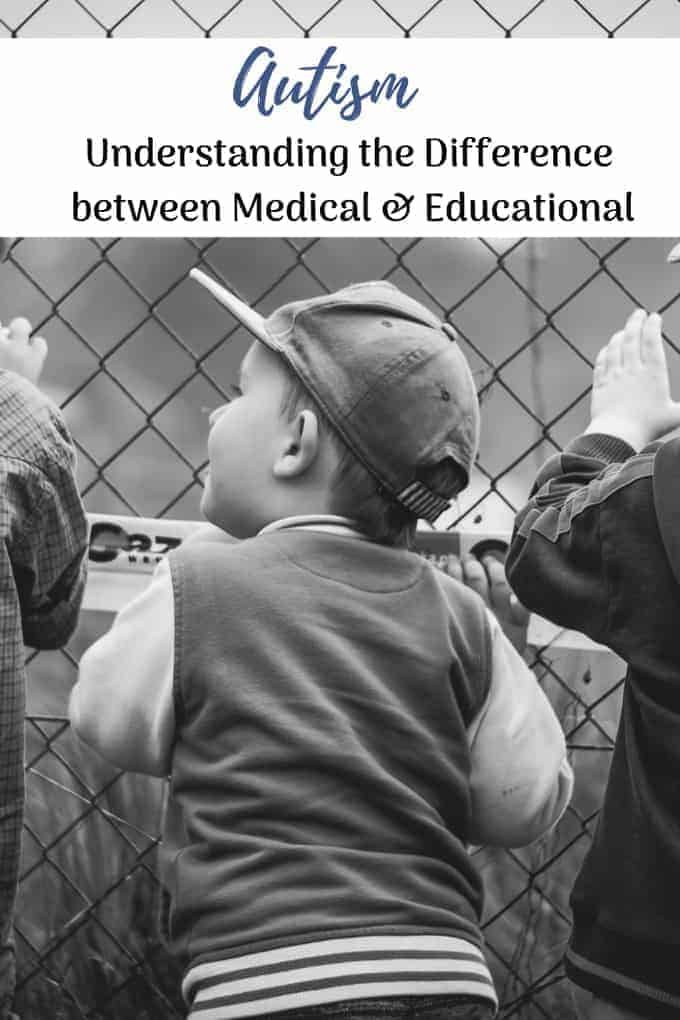 difference between Autism medical educational boys standing at a fence looking in
