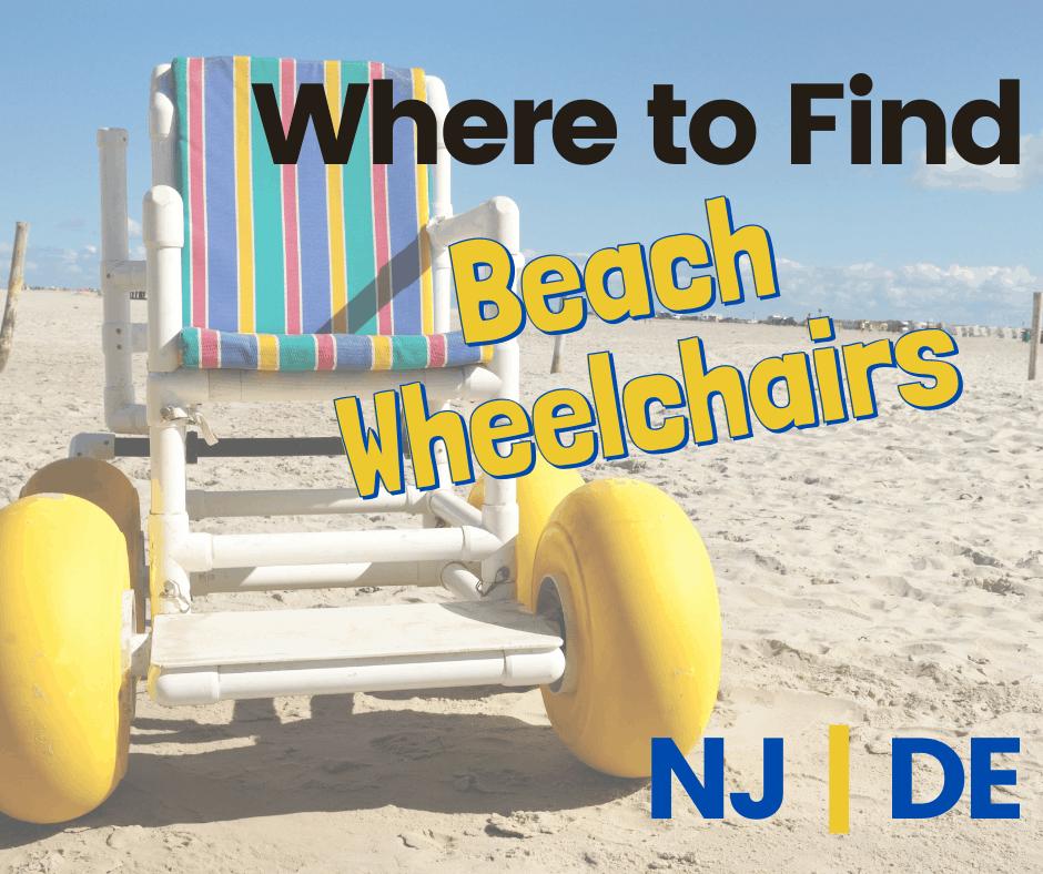 where to find beach wheelchairs