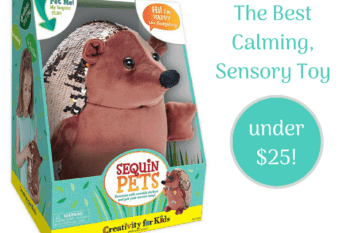 {Happy the Hedgehog} A $25 weighted calming toy your whole family will love.