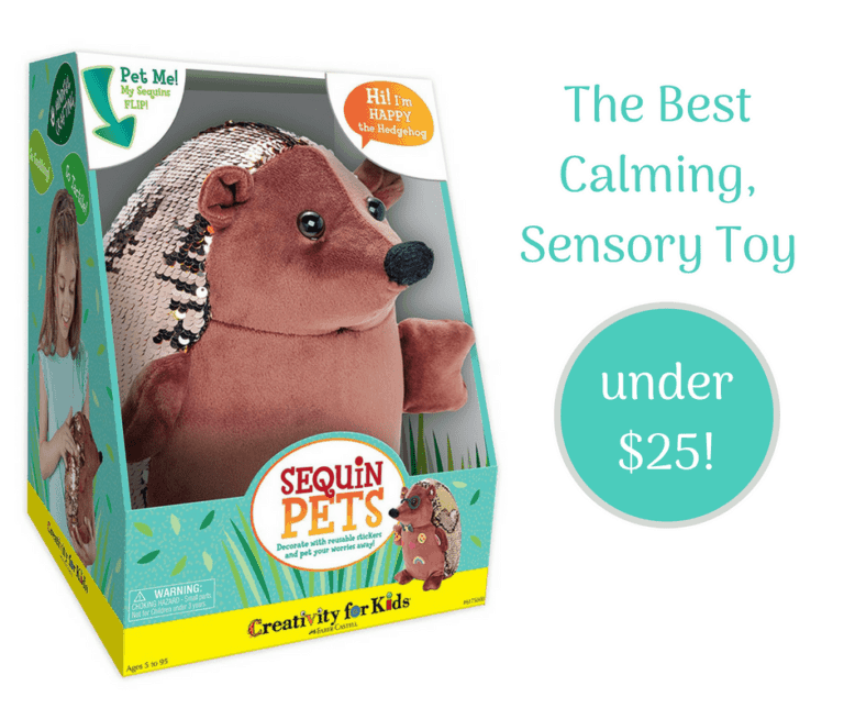 {Happy the Hedgehog} The weighted calming toy your whole family will love.