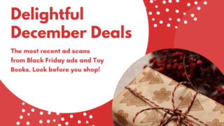 {Holiday Ads 2019} Black Friday | Cyber Monday | Toy Books